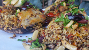 The Everyday Chef: Quinoa Stuffed Antipasto Portabella