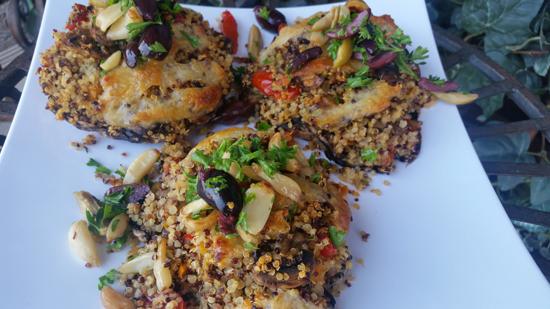 The Everyday Chef: Quinoa Stuffed Antipasto Portabella