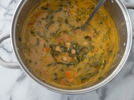The Everyday Chef: Swiss Chard & Chickpea Soup. Fruits And Veggies More Matters.org