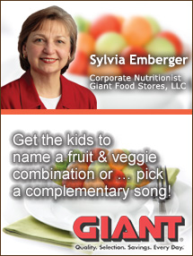 Insider's Viewpoint: Expert Supermarket Advice: The Sweet Harmony of Produce. Sylvia Emberger, Giant Food Stores. Fruits And Veggies More Matters.org