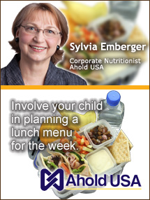 Insiders Viewpoint: Expert Supermarket Advice: Outside-the-Box Lunches, Sylvia Emberger, Ahold USA. Fruits And Veggies More Matters.org