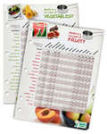 Fruit and vegetable nutrition information chart: Fruits & Veggies More Matters.org