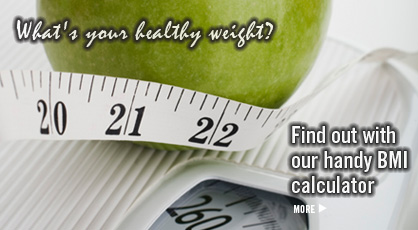 Click here to go to our BMI calculator