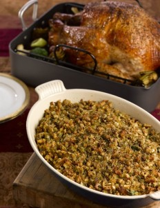 artichoke fennel and leek stuffing