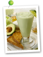 Avocado Melon Breakfast Smoothie. Fruits And Veggies More Matters.org