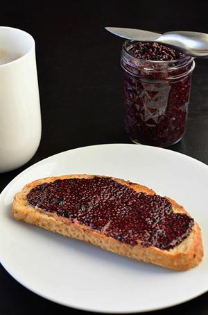 Wild Blueberry Chia Seed Jam