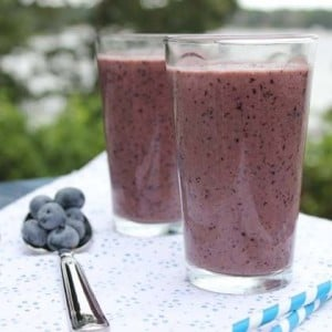 bluerry smoothie