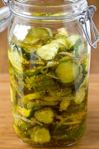 bread butter pickles