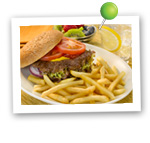 Healthy Burger & Fries. Fruits And Veggies More Matters.org