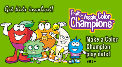 Click to See Fruit & Veggie Color Champions: Activity Pages