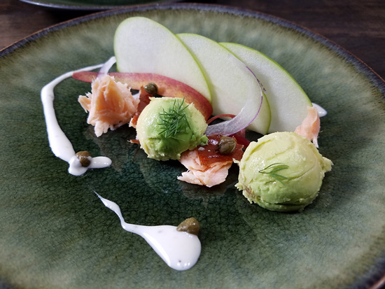 The Everyday Chef: Apple + Avocado & Smoked Salmon Salad