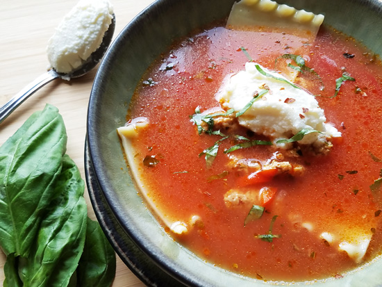 The Everyday Chef: Savory Lasagna Soup. Fruits And Veggies More Matters.org