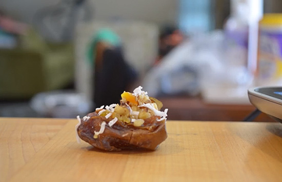The Everyday Chef: How to Pit Dates for a Gooey Apricot-Stuffed Medjool Date Appetizer