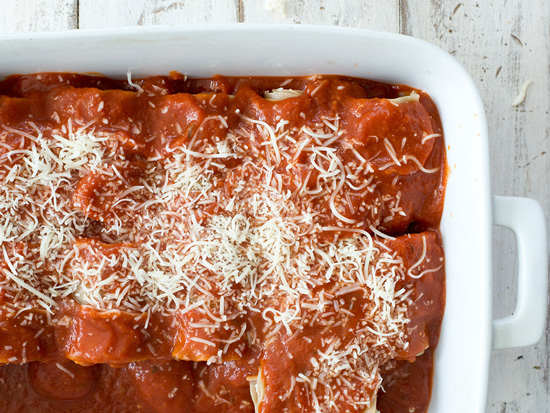 The Everyday Chef: Spinach Lasagna Rolls