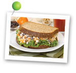 A Clementine Salad Sandwich. Fruits And Veggies More Matters.org