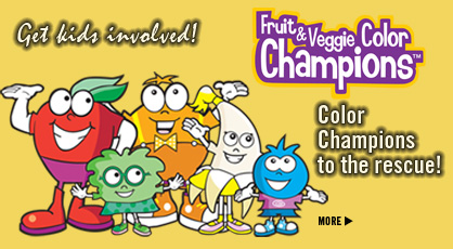 Click to See Our Fruit & Veggie Color Champions: Activity Pages