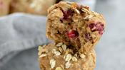 The Everyday Chef: Moist & Perfectly Tart Oatmeal Cranberry Muffins