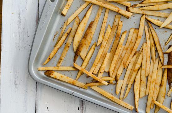 Crispy Oven-Baked Fries