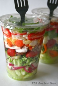 cup salad
