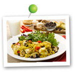 Curried Chicken with Raisins and Mushrooms. Fruits And Veggies More Matters.org