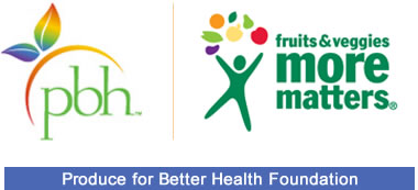 Produce for Better Health Foundation | Fruits & Veggies-More Matters