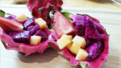The Everyday Chef: Stunning Dragon Fruit Salad