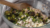 The Everyday Chef: How To Perfectly Roast Broccoli for a Deliciously Simple Broccoli Farro Salad