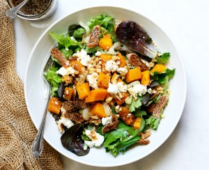 fig and squash salad