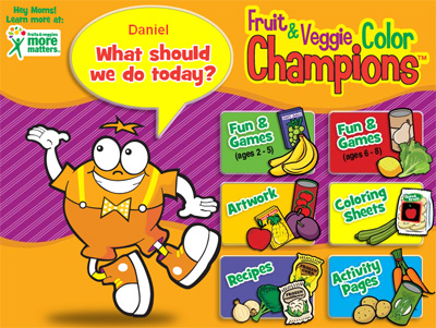 Games that Teach Kids about Fruit & Vegetable Nutrition