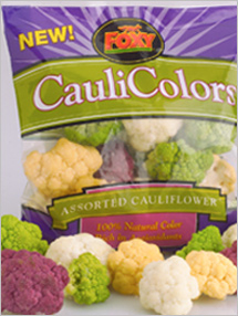New in your supermarket: CauliColors