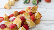 The Everyday Chef: Strawberry French Toast Kebobs