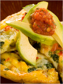 CIA Recipies: Mexican Vegetable Frittata
