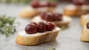 The Everyday Chef: Roasted Grape Thyme Crostini