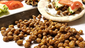 The Everyday Chef: Quick & Easy Toasted Za'atar Chickpea Gyros