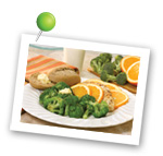 Herbed Chicken with Broccoli. Fruits And Veggies More Matters.org