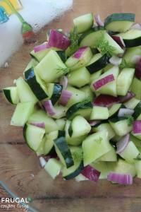 honeydew cucumber salad