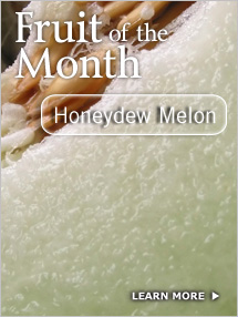 Click to see Nutrition and Storage Info: Honeydew Melon