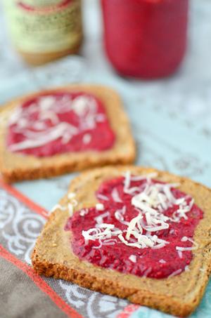 Raspberry-Orange Chia Seed Jam