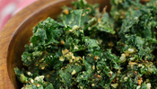 The Everyday Chef: Cheesy Baked Kale Chips