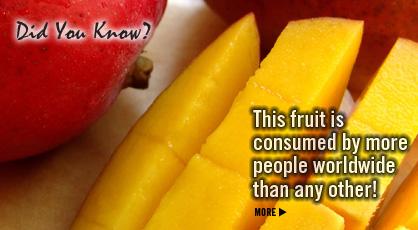 Click to Visit Our Fruit & Veggie Database: Mango