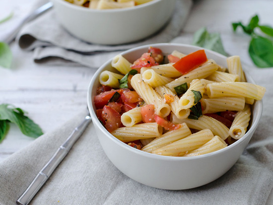 The Everyday Chef: Pasta with No-Cook Tomato Sauce