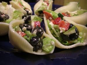 party salad boats
