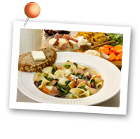 Click to view larger image of Mediterranean Potato Soup : Fill Half Your Plate with Fruits & Veggies : Fruits And Veggies More Matters.org