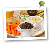 Click to view larger image of Sweet and Savory Raisin Tapenade : Fill Half Your Plate with Fruits & Veggies : Fruits And Veggies More Matters.org