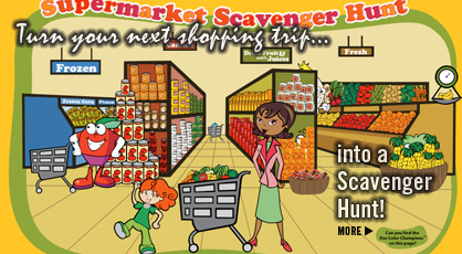 Click here for our Supermarket Scavenger Hunt