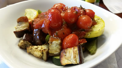 Roasted Ratatouille w/ Simple Marinara