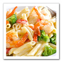 Penne Shrimp and Broccoli Recipe: March is National Frozen Food Month. Fruits And Veggies More Matters.org