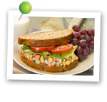 Shrimp Salad Sandwich. Fruits And Veggies More Matters.org