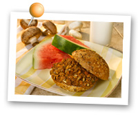 Click to view larger image of Mushroom Beef Sloppy Joes : Fill Half Your Plate with Fruits & Veggies : Fruits And Veggies More Matters.org