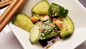 The Everyday Chef: Spicy Asian-Inspired Cucumber Appetizer
